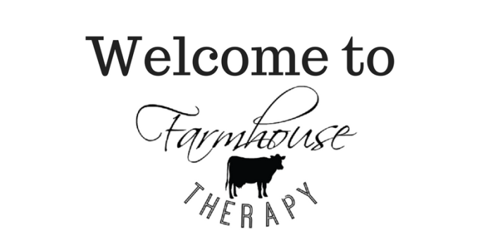 welcome to farmhouse therapy