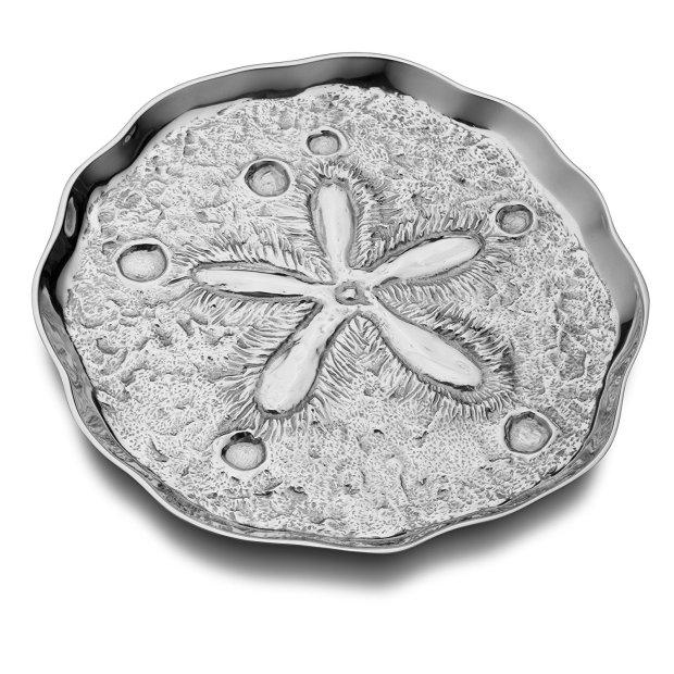 armetale sand dollar tray